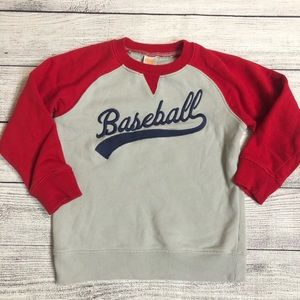 Gymboree Baseball Sweatshirt